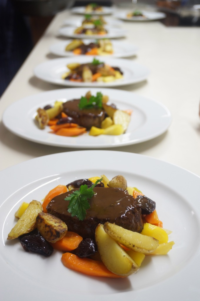Rinderfiletsteak mit Portweinsauce © Thomas Hüttl