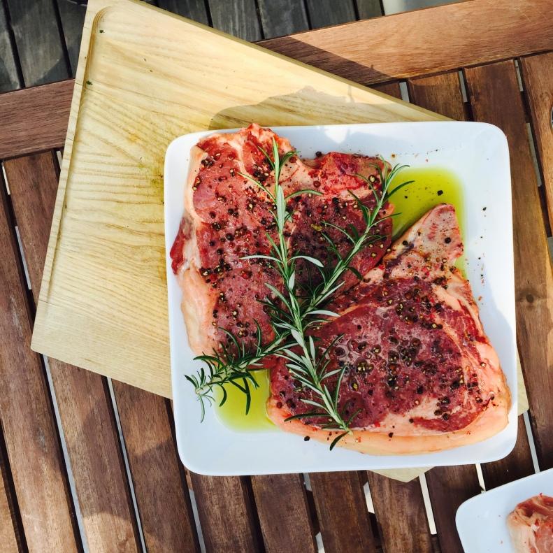Grill-Liebling: T-Bone Steak vom Waldviertler Blondvieh © Alexandra Palla