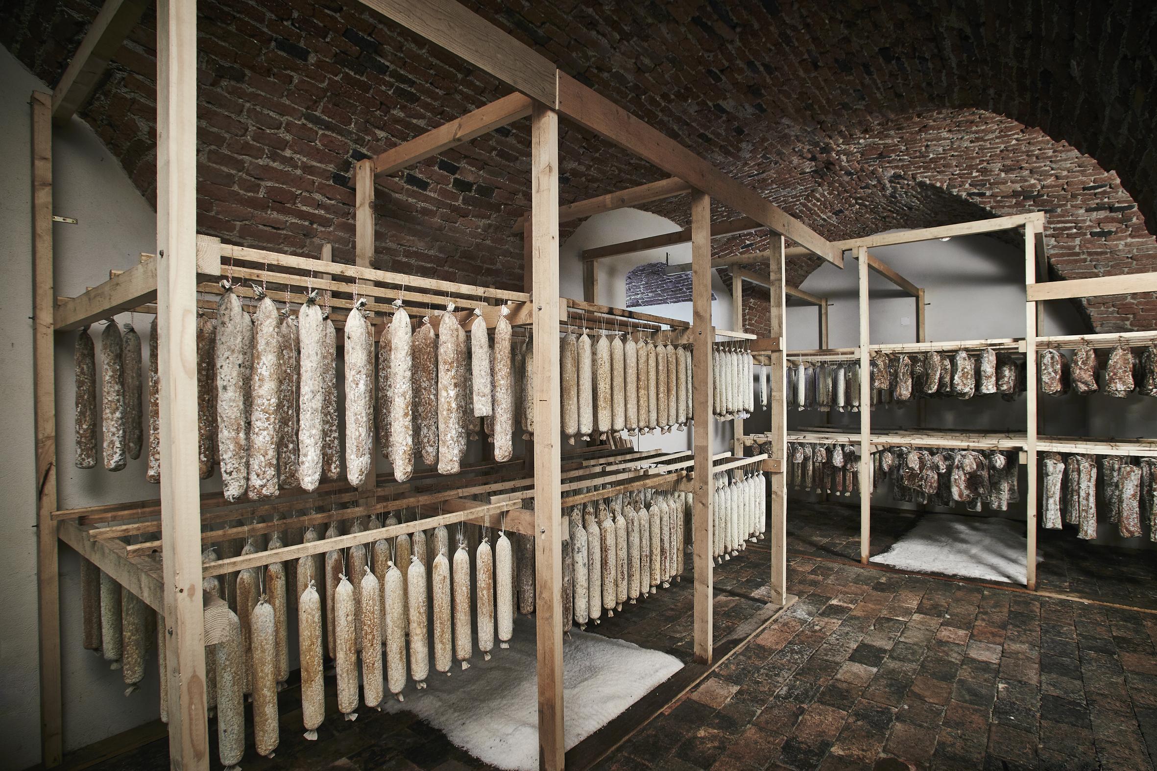 Reifekeller in der Babenberger Burgruine_© Le Foodink
